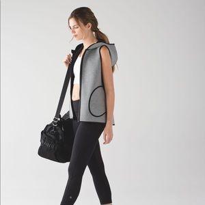 Lululemon Insculpt Vest *Reversible Black and Gray